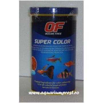 Hrana pesti exotici Ocean Free Super Colour 1100 ml