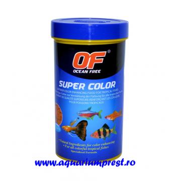 Hrana pesti exotici Ocean Free Super Colour 280 ml