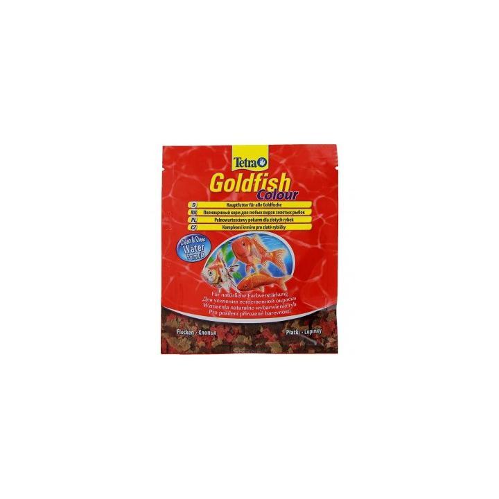 Hrana pesti exotici plic Tetra Goldfish 12 gr