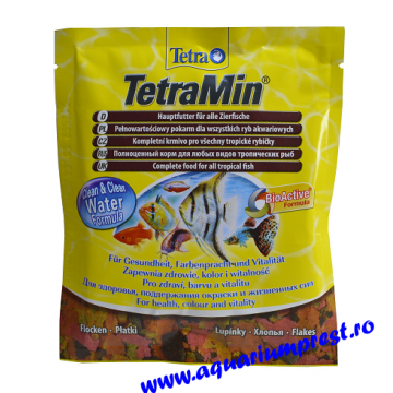 Hrana pesti exotici plic Tetramin fulgi 12gr