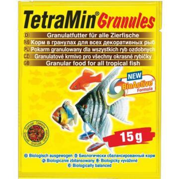 Hrana pesti exotici plic Tetramin Granulat 15gr