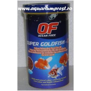 Hrana pesti Ocean Free Super Goldfish Colour 280 ml