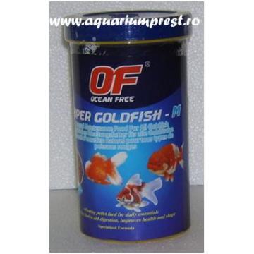 Hrana pesti Ocean Free Super Goldfish Maintenance 550 ml