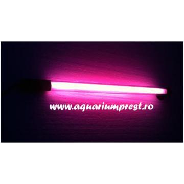 Lampa submersibila Colour Lamp 25 cm roz Daylight
