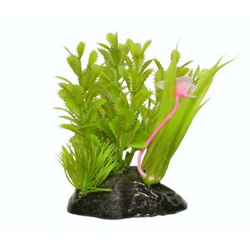 Planta plastic acvariu PP283 13cm
