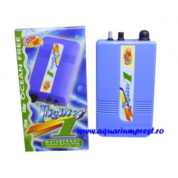 Pompa de aer cu baterii Fighter 1