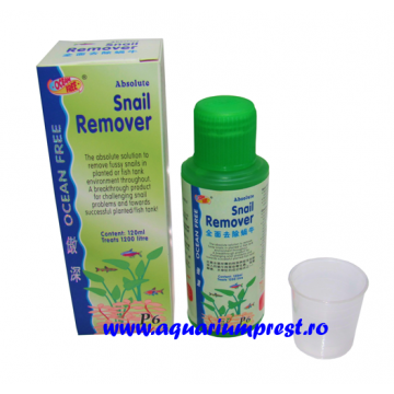 Solutie antimelci P6 Absolute Snail Remover 120 ml