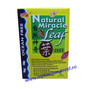 Tratament apa cu frunze maruntite Natural Miracle Leaf