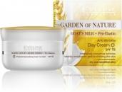 Cremă Garden of Nature de zii / noapte anti-rid cu pro elastină și lapte de capră 50 ml