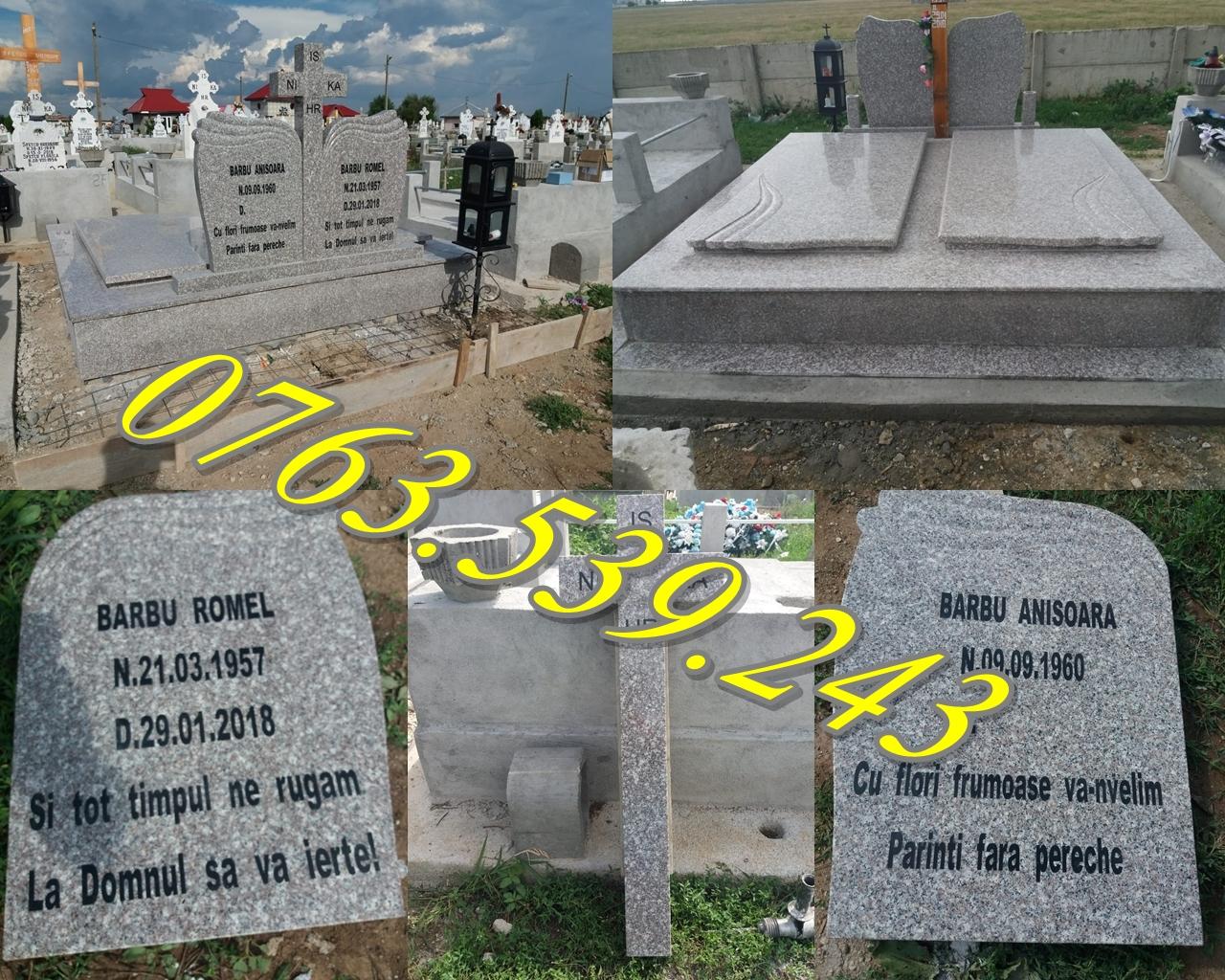 Morminte Complete De Granit | Cruci | Cavouri