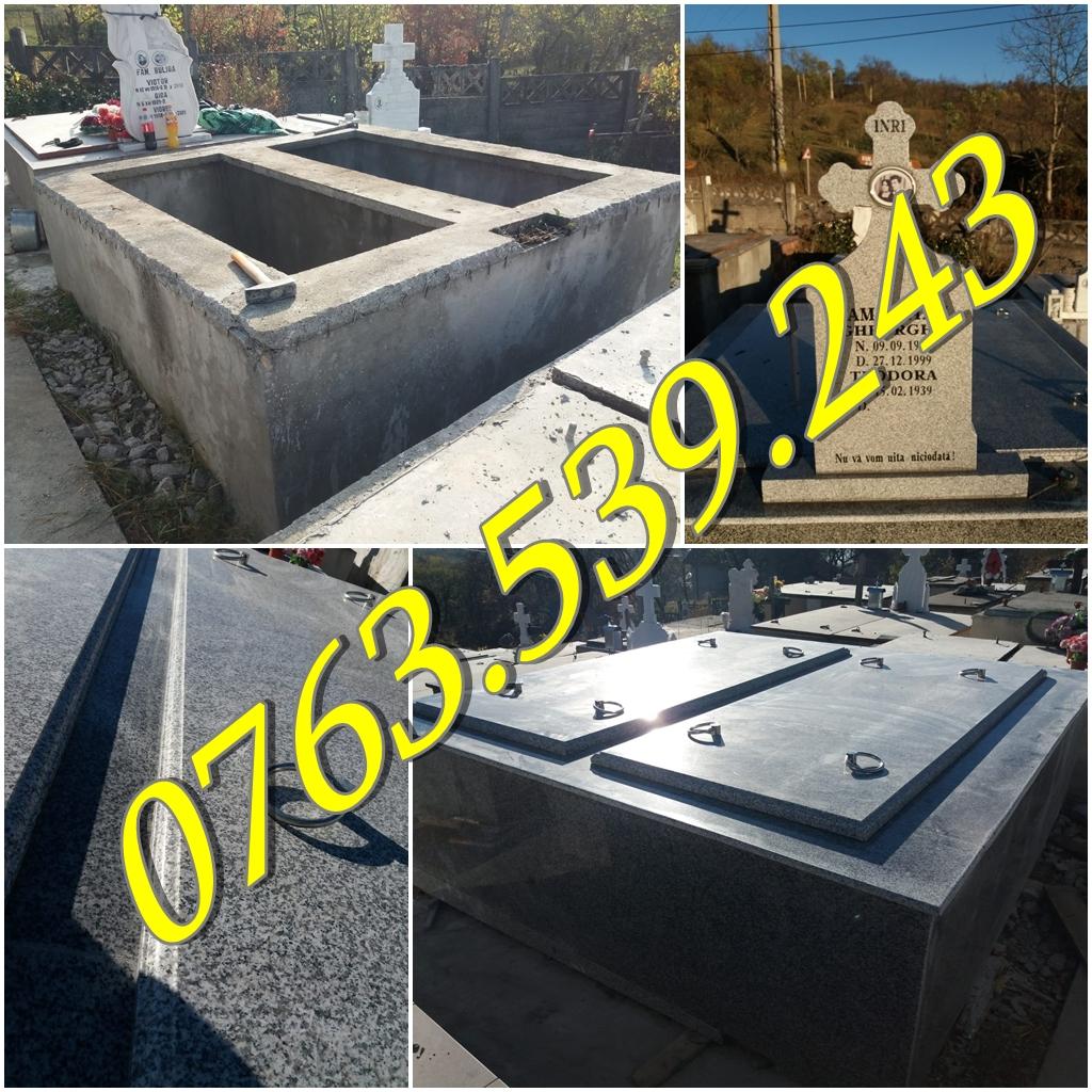 Amenajari morminte cu granit