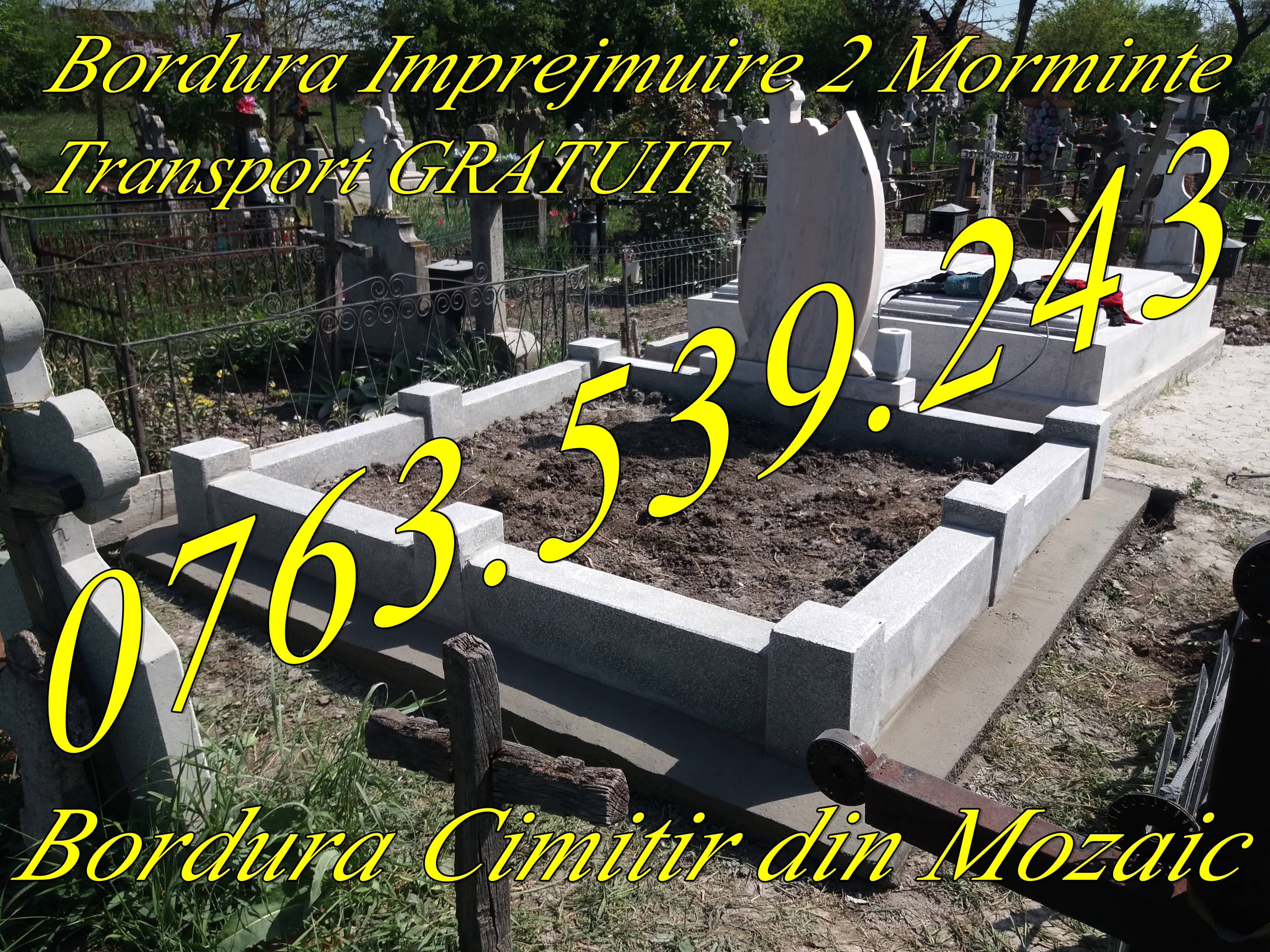 Gardut Grilaje Cimitir Bordura Mozaic Imprejmuire Morminte