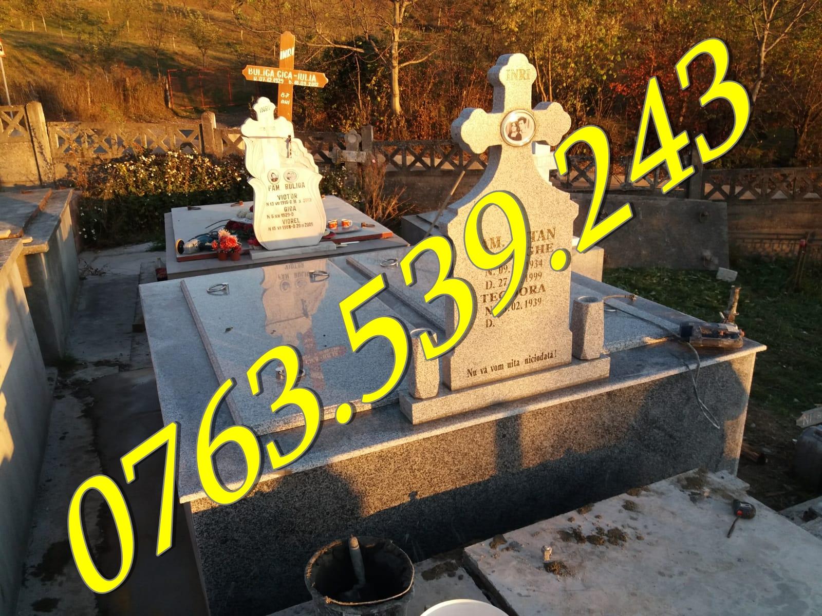 Constructii Cavouri si Morminte De Granit