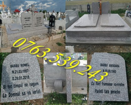 Amenajari Morminte si Lucrari Funerare Granit