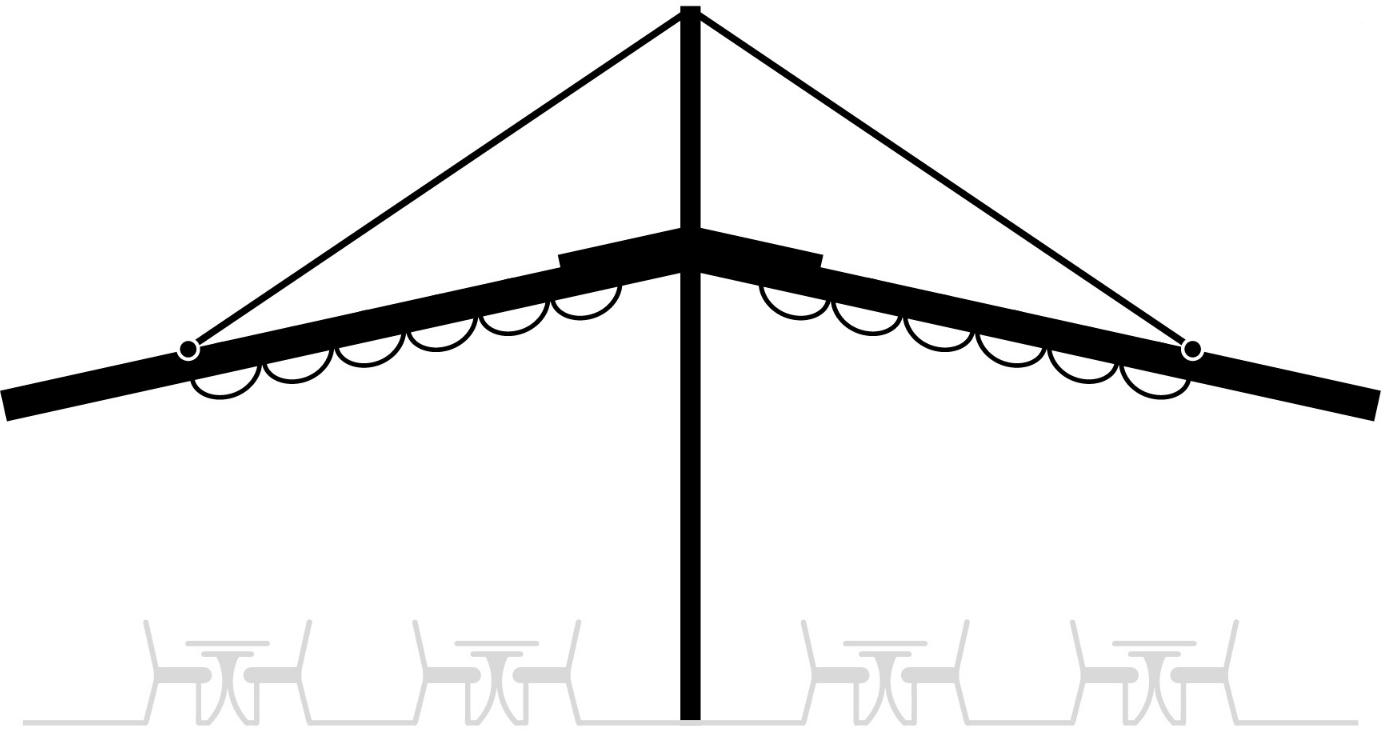 Pergola Retractabila Flat Variance