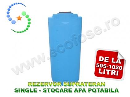 Rezervor suprateran Single