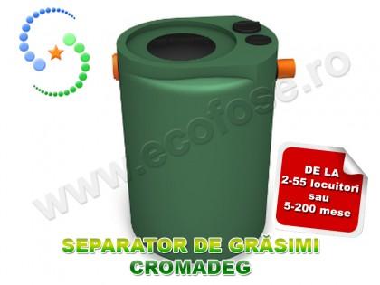 Separator de grasimi Cromadeg