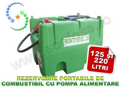 Rezervor PRONTO Diesel - cu pompa de alimentare