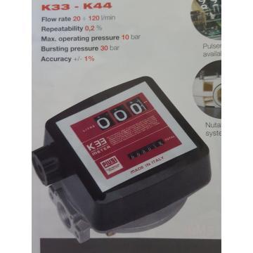 Debitmetru mecanic Piusi K33