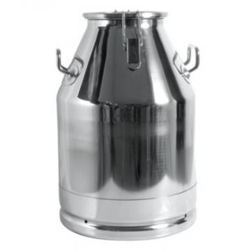 Bidon transport lapte 30L cu capac din inox