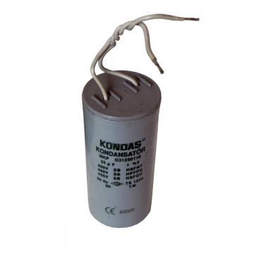 Condensator motor pentru aparate de muls