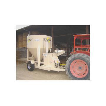 Moara pentru productie hrana animale FNC mobil Carmix 50