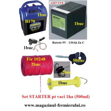 Gard electric Starter pentru vaci 9-12-220V