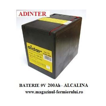 Baterii Alcaline 9V 200Ah