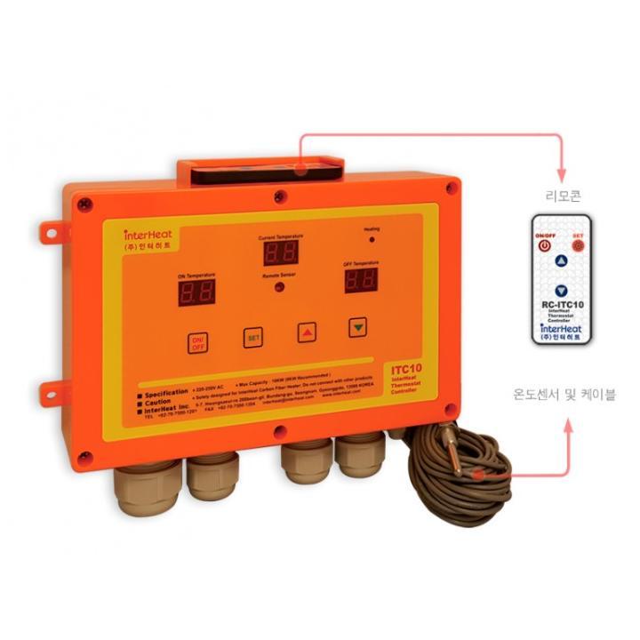 Panou control cu senzor temperatura