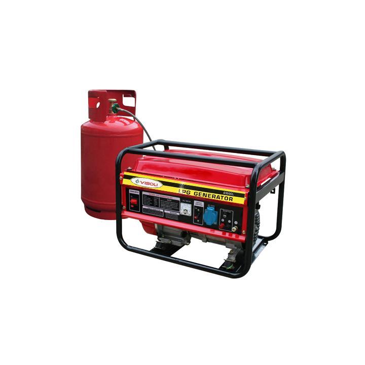 Generator curent GPL Visoli LPG-6500CL 5 KW