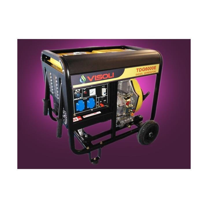 Generator de curent electric diesel 6.5kw Visoli