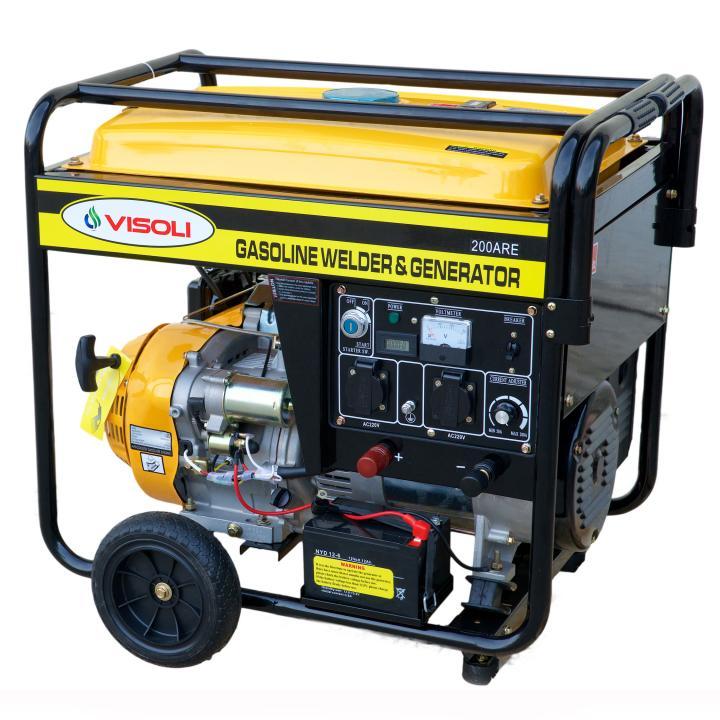 Generator de Sudura/Curent Benzina Visoli LTW6000E Monofazat