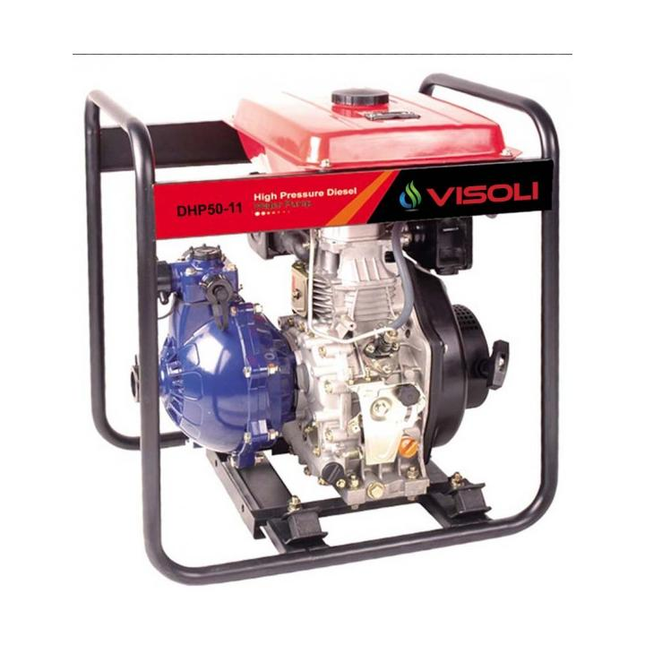 Motopompa irigatii diesel Visoli TDH50CL, 92m verticala