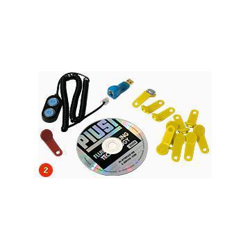 Kit pt. descarcare date - chei, software, adaptator