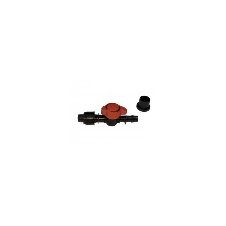 Robinet pentru sistem irigatii Teco 16mm cu garnitura