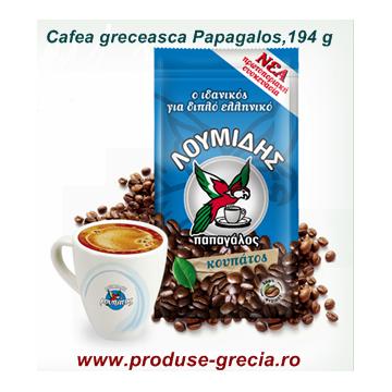 Cafea Greceasca Papagalos, 194 g