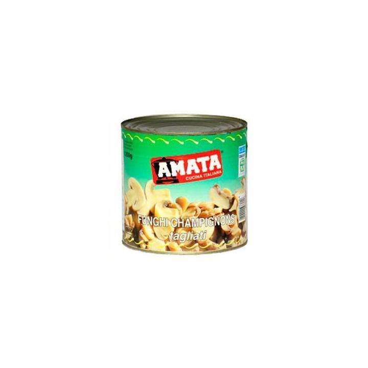 Conserve ciuperci taiate Amata