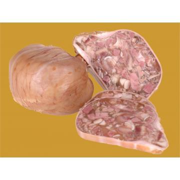 Toba din carne fiarta si afumata de casa