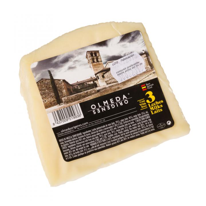 Branza 3 Milks Cheese (Cow, Sheep, Goat) Castilla La Mancha