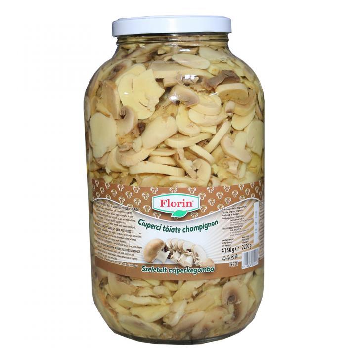 Conserva ciuperci taiate Florin 4250ml