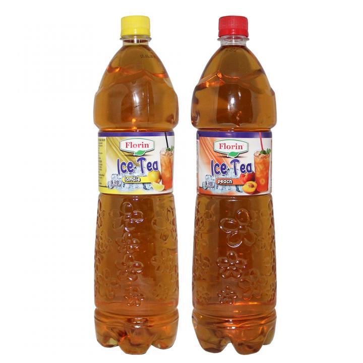 Bautura racoritoare Ice Tea lamaie&piersici Florin 1,5litri