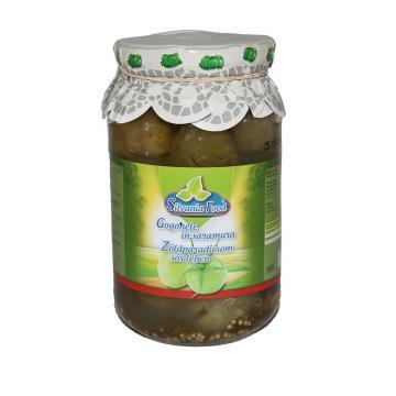 Conserva gogonele in saramura 930ml Silvania