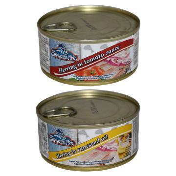 Conserva hering sos de tomate & rapita 300gr Silvania Fish