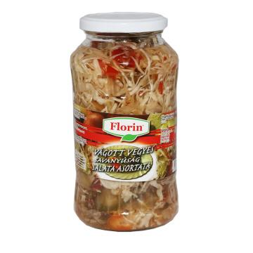 Conserva salata asortata 720ml Florin
