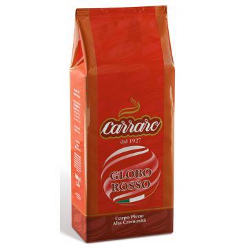 Cafea boabe Carraro Globo Rosso 1kg.