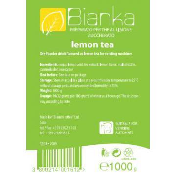 Ceai solubil lamaie Bianka 1kg