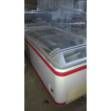 Lada produse congelate cu geam curbat AHT 185