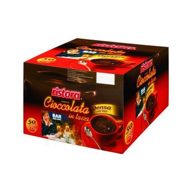 Ciocolata densa Ristora bar - plic 25g