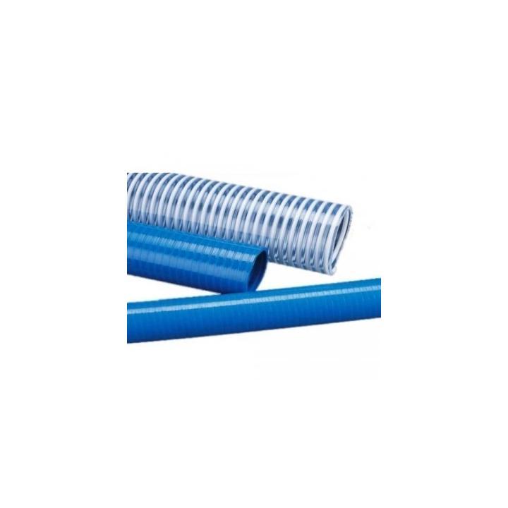 "Furtun aspiratie spiralat PVC - 2"""