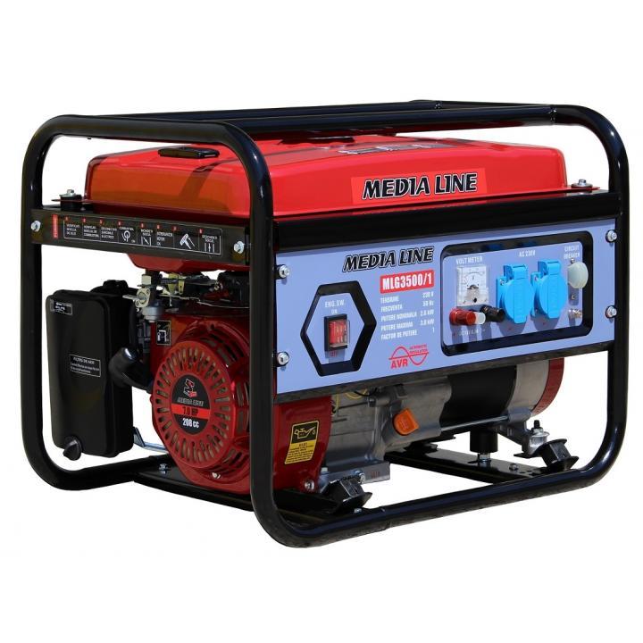 Generator curent monofazat Media Line MLG 3500/1